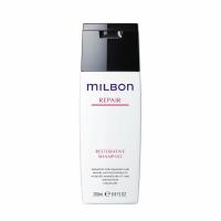 milbon Restorative Shampoo (มิลบอน รีสตอเรทีฟ แชมพู )