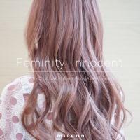 Feminity Innocent สวยหวานทรงเสน่ห์ ด้วยผมสีชมพูสวยใสไร้เดียงสา