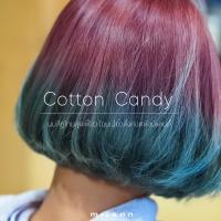 Cotton Candy ผมสีทูโทนสุดเฟี้ยว โฉบเฉี่ยวดั่งคอตต้อนแคนดี้