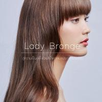 Lady Brange สู่ความเป็นเลดี้ ด้วยสีน้ำตาลเบจประกายม่วงอ่อน