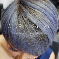 ChicBlue Sapphire สีผมสุดชิค เปล่งประกายหรูหราดั่งบลูแซฟไฟร์