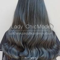 Lady ChicMode ผมสีน้ำตาลนุ่มนวลที่แฝงเสน่ห์ความเรียบเท่