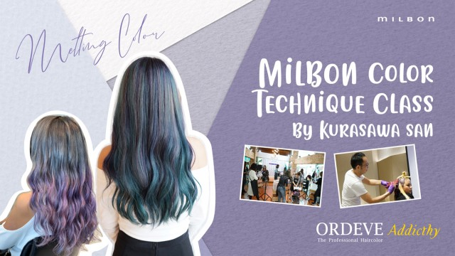 MILBON Color Technique Class By Kurasawa San