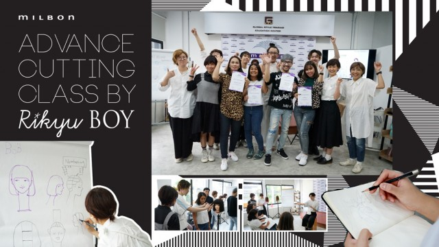 MILBON Advance Cutting Class by Boy Rikyu