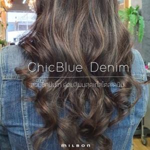 ChicBlue Denim สวยชิคปนเท่ ด้วยสีผมสุดเก๋สไตล์เดนิม