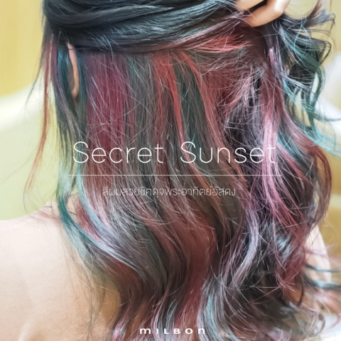 Secret Sunset สีผมสวยสุดชิค ดุจพระอาทิตย์อัสดง