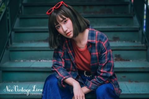 สวยคลาสสิคในแบบฉบับสาวเก๋ ด้วยสีผม Neo Vintage Khaki