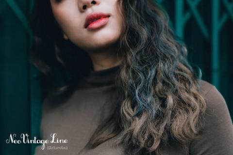 สวยสง่าแต่แฝงไปด้วยความเซ็กซี่ด้วยสีผม Neo Vintage Grey