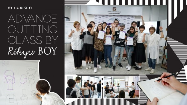 MILBON Advance Cutting Class by Boy Rikyu